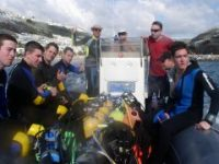BSAC Sports Divers can undertake more challenging dives from RIBS and other small boats