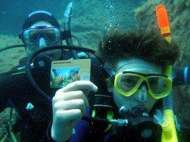 Usted puede tomar todos los cursos PADI en las Islas Canarias