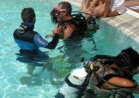 Curso submarinismo en la Piscina, Gran Canaria
