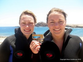 Get your PADI card in Gran Canaria where al-year round sunshine means warmth and relaxed diving.