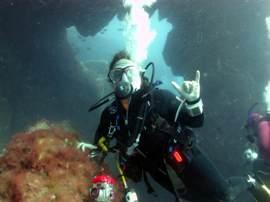 Everyone enjoys diving in the Arinaga marine reserve in Gran Canaria