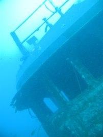 Auf Gran Canaria können Sie das Mogan Wrack betauchen, das gut erhalten ist und in 18 m Tiefe liegt.