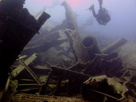 Wreck Diving on a PADI Advanced Open Water Course